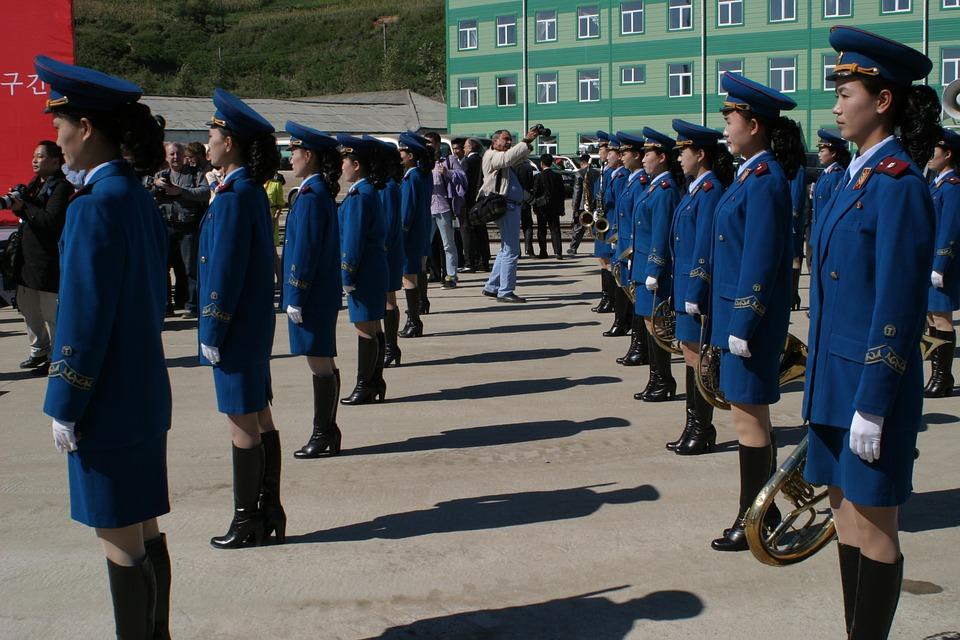 Corée du Nord parade
