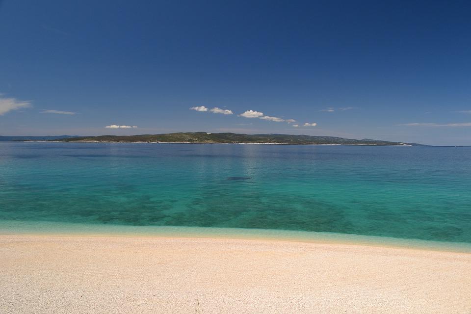Croatie plage