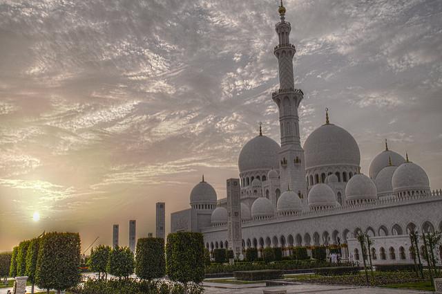 Grande mosquée Abu Dhabi