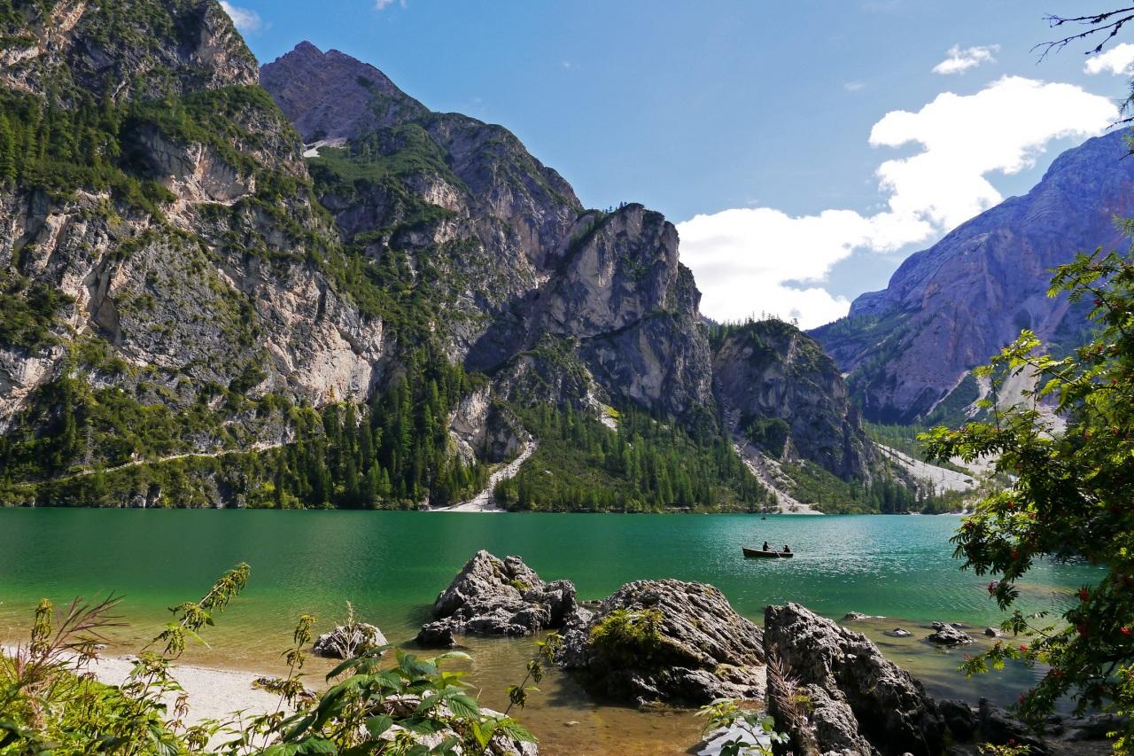 Lac Braies, Italie