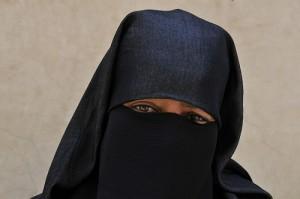 Maroc femme voilée