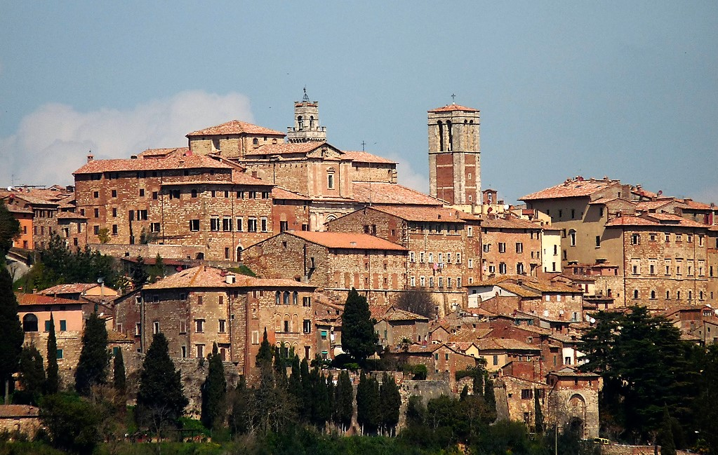 Montepulciano, Toscane, Italie