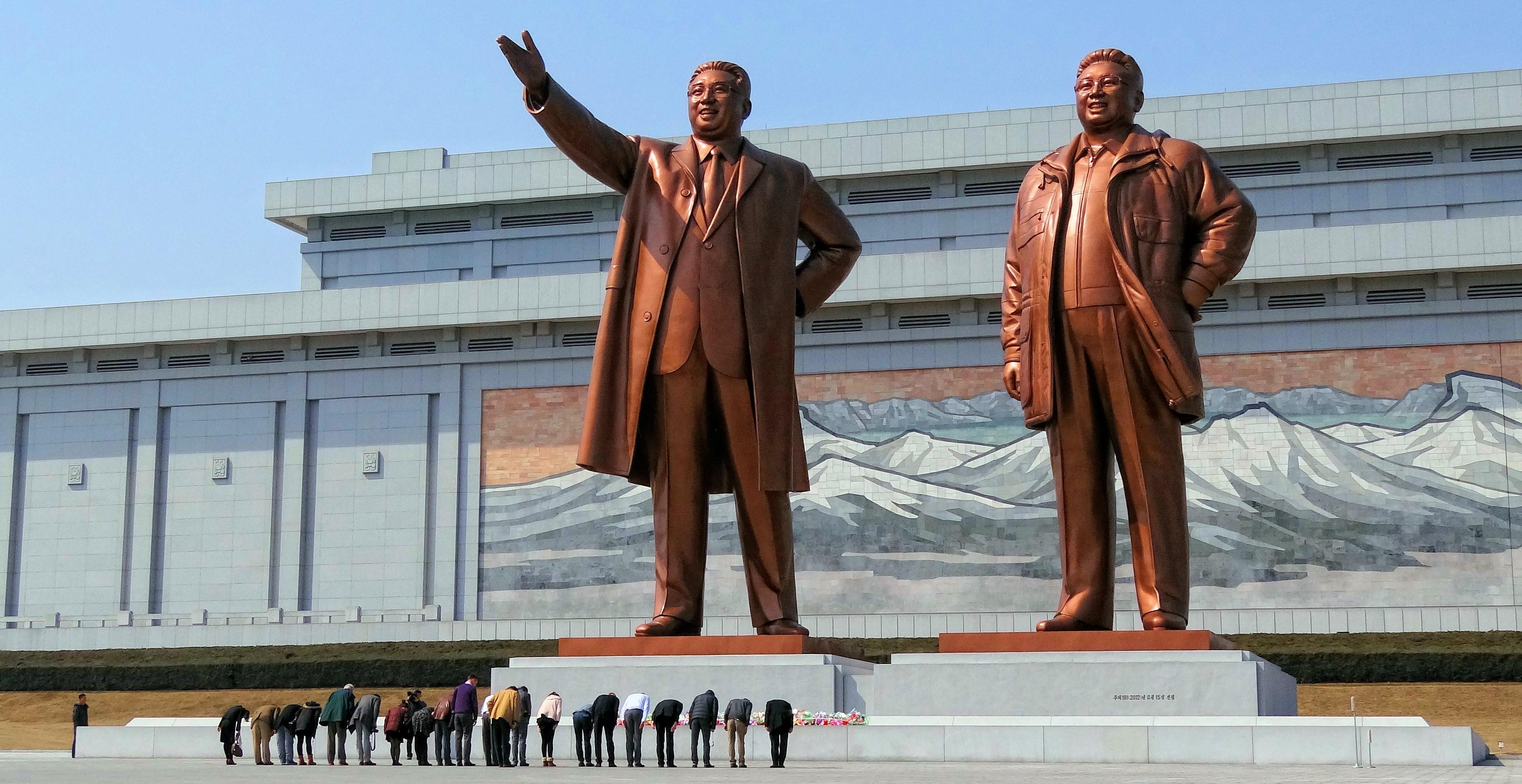 Monument Corée du Nord