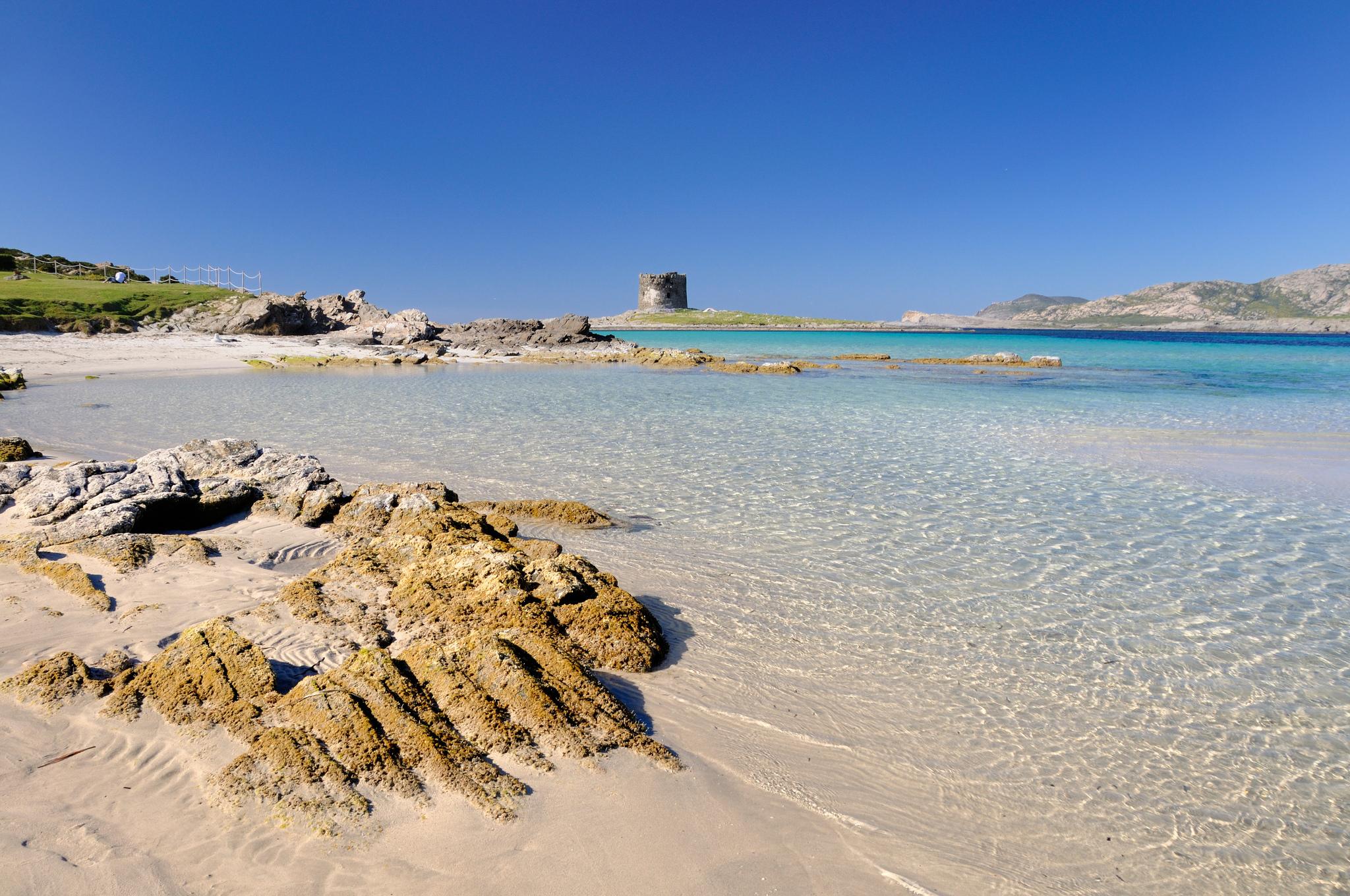 Spiaggia Pelosa, Sardaigne