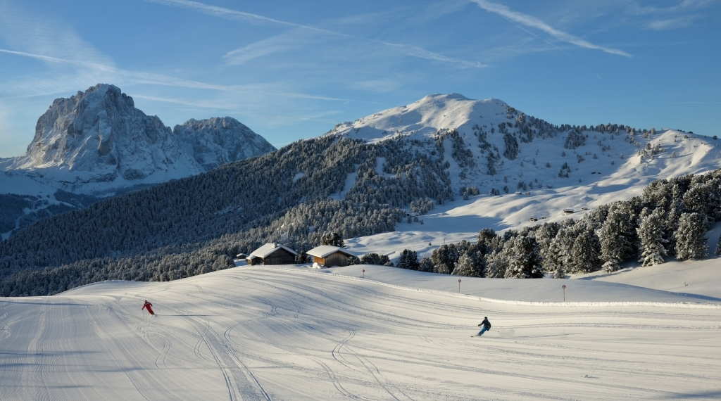 Val Gardena, station de ski en Italie