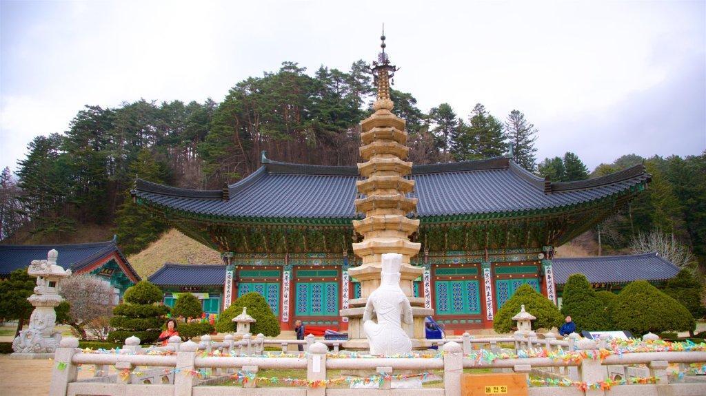 Woljeongsa temple, Corée du Sud