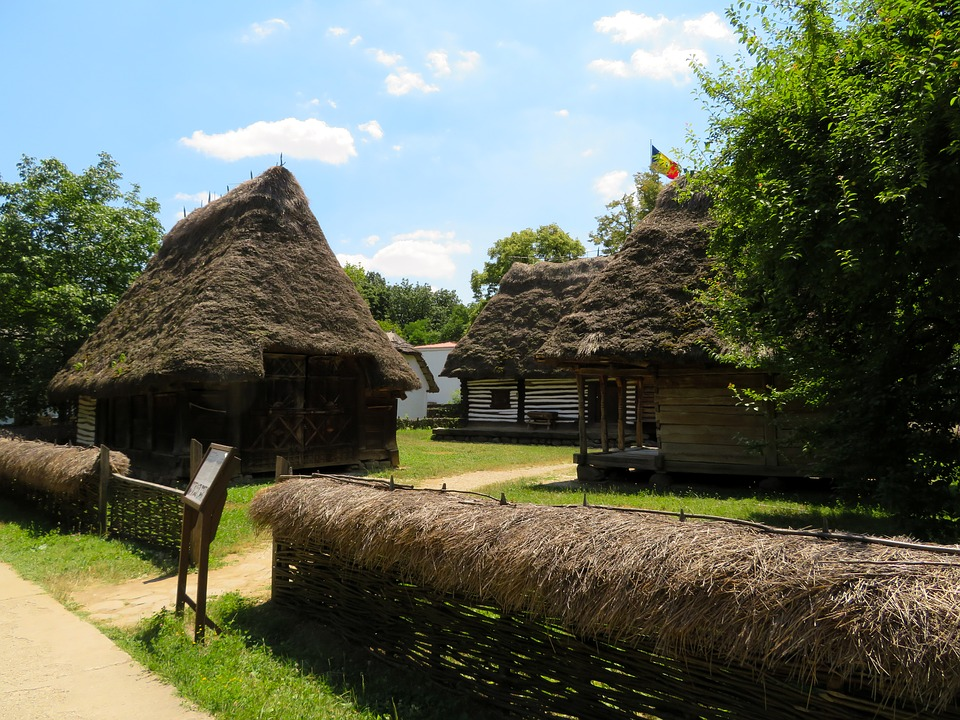 musée du village roumain, Bucarest, Roumanie