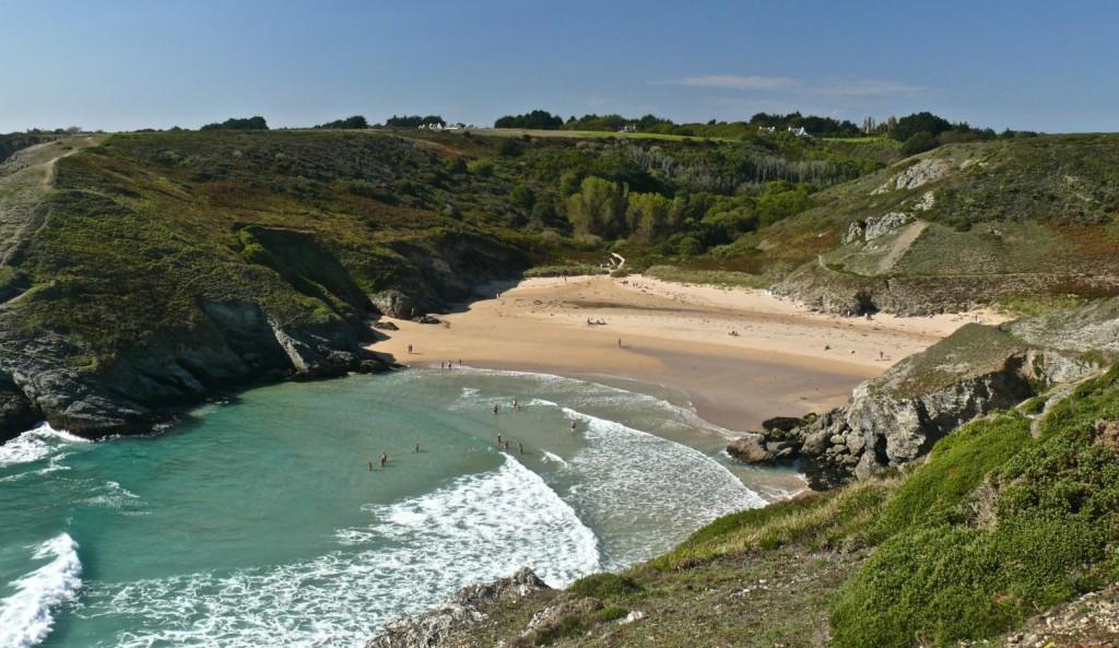 plage d'Herlin en Bretagne