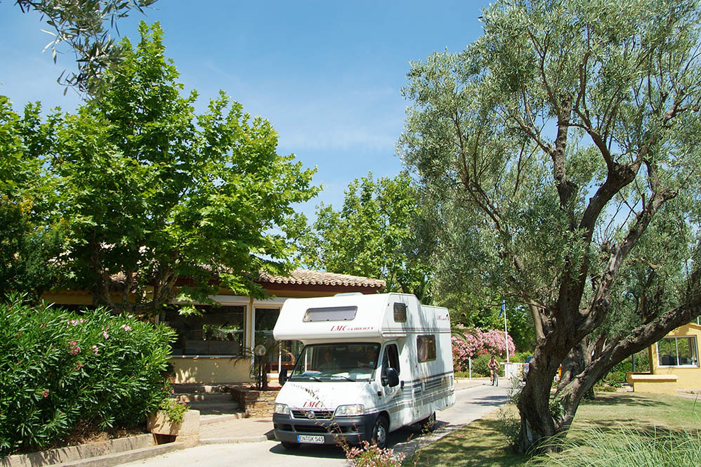 Aire Camping Car Cannes
